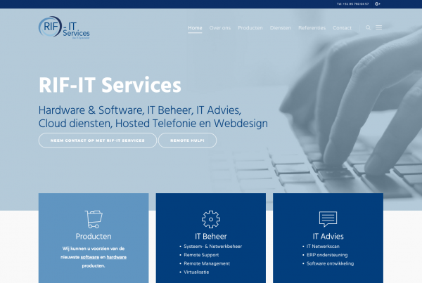 Website RIF-IT Services